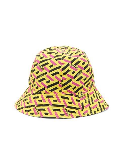 La Greca Print Bucket Hat