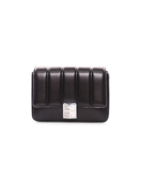 Medium 4G Padded Leather Crossbody Bag