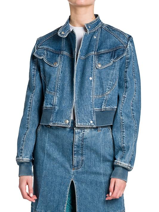 Stella McCartney Vintage Wash Denim Jacket
