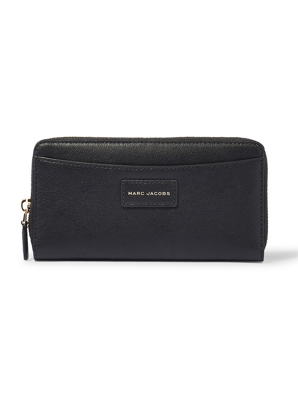 마크 제이콥스 지갑 Marc Jacobs Vertical Zippy Leather Wallet,BLACK