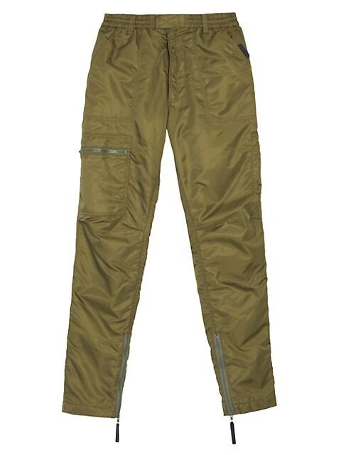 Reversible Nylon Cargo Pants