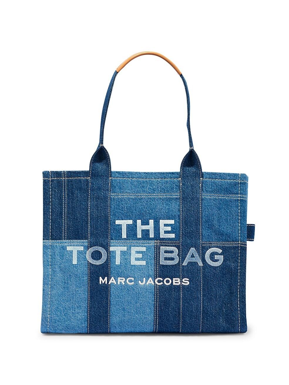 마크 제이콥스 토트백 Marc Jacobs Denim Traveler Tote,BLUE DENIM