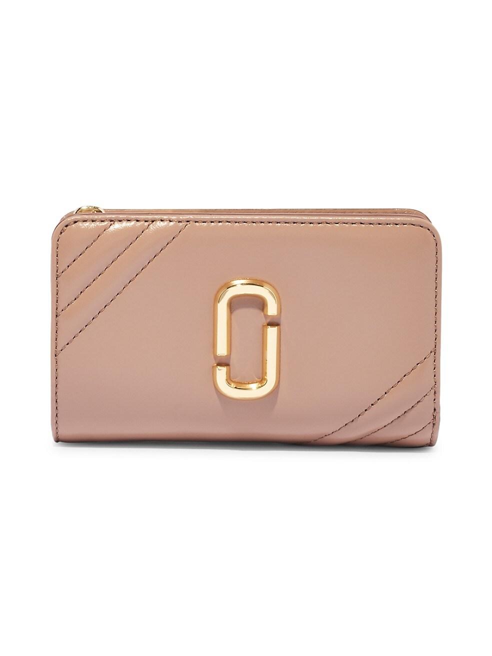 마크 제이콥스 지갑 Marc Jacobs Snapshot Leather Compact Wallet,DUSTY BEIGE