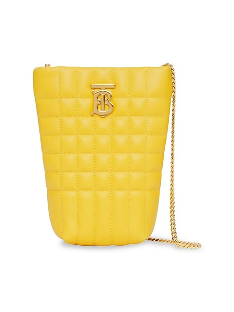 Micro Lola Quilted Leather Tote
