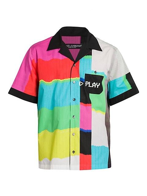 Multicolor Bowling Shirt