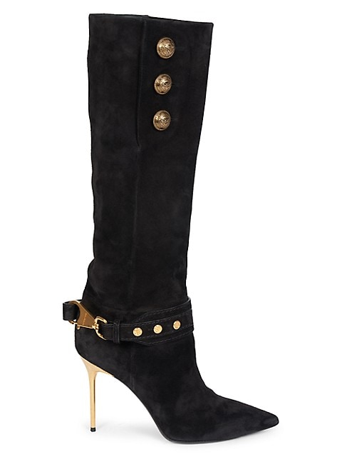 Robin Suede Knee-High Boots