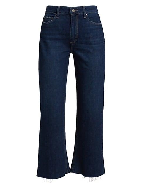 Leenah Cropped Wide-Leg Jeans