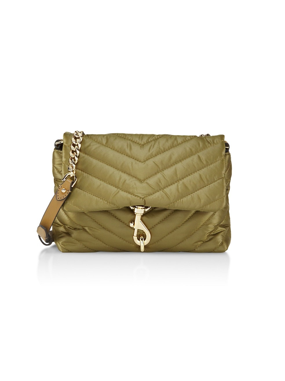 Rebecca Minkoff: Jumbo Edie Quilted Nylon Shoulder Bag $55.18