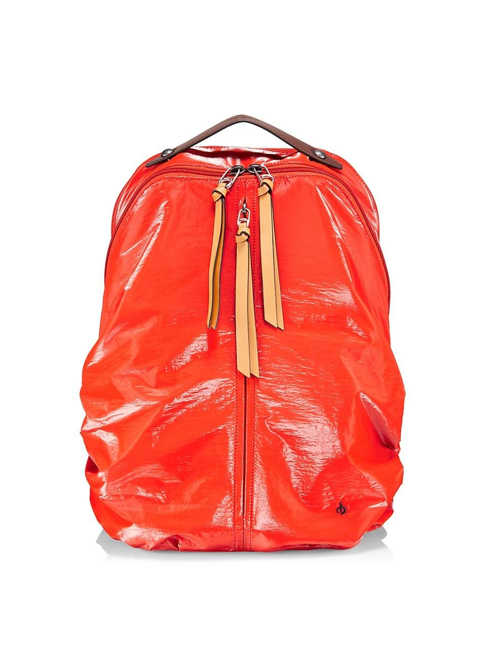 랙앤본 Rag & Bone Commuter Recycled Nylon Backpack,ORANGE