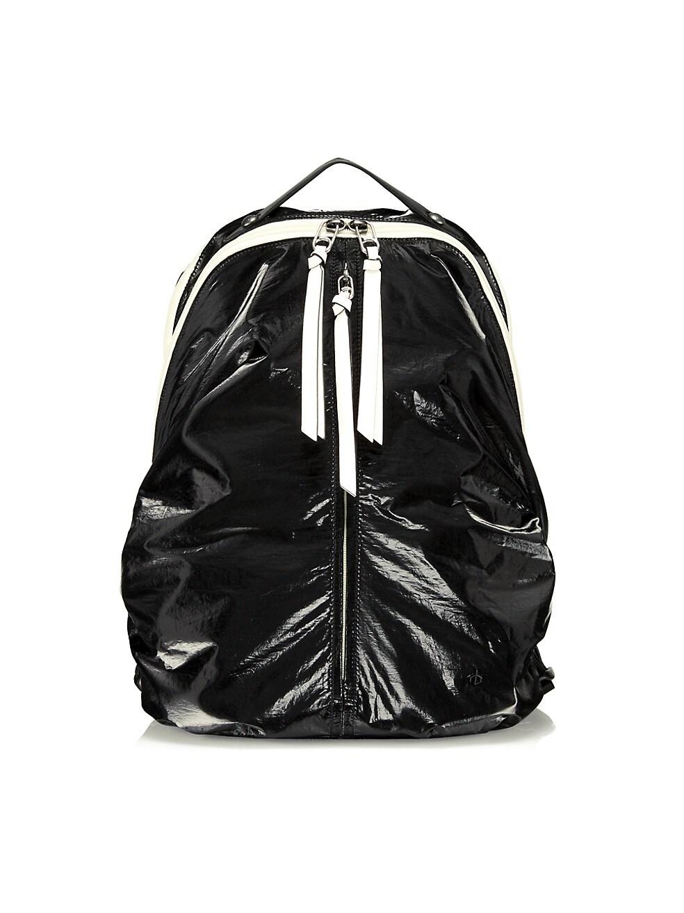 랙앤본 Rag & Bone Commuter Recycled Nylon Backpack,BLACK