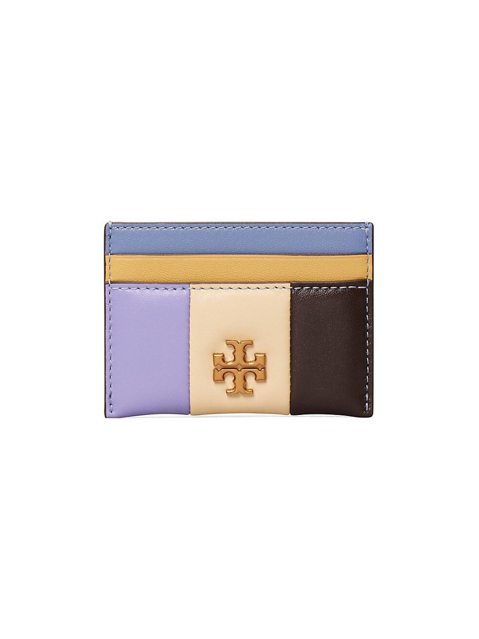 토리버치 카드 지갑 Tory Burch Kira Patchwork Leather Card Case,MULTI