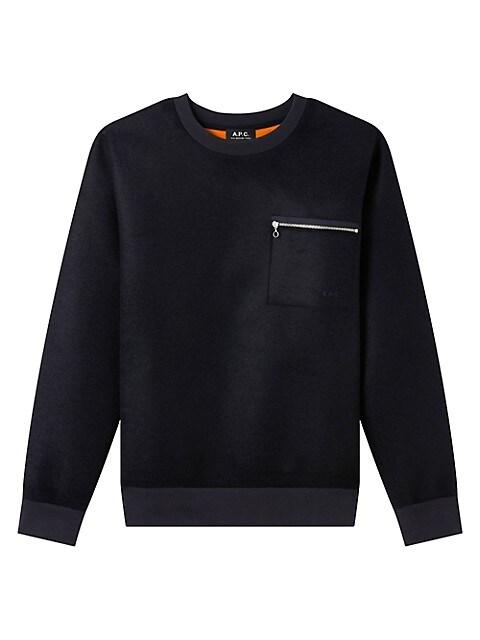 Louis Zip Pocket Sweatshirt