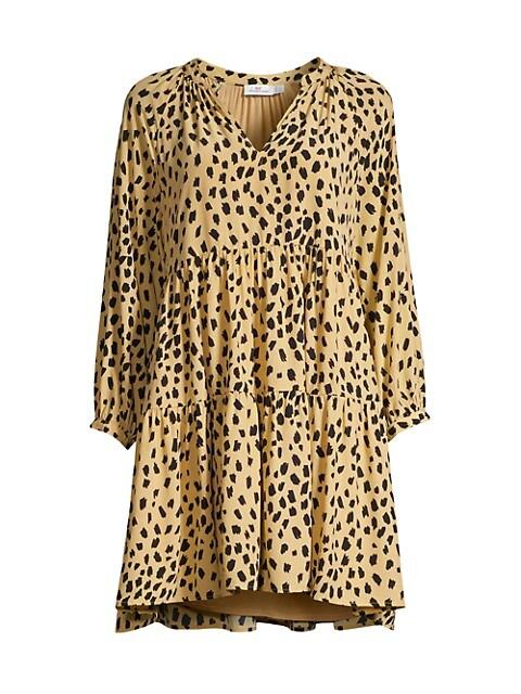 Wild Tiered Dress