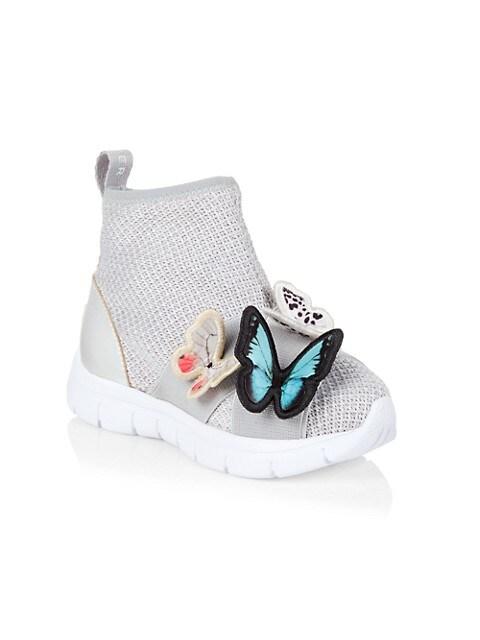 Little Girl's & Girl's Riva Sock High-Top Sneakers