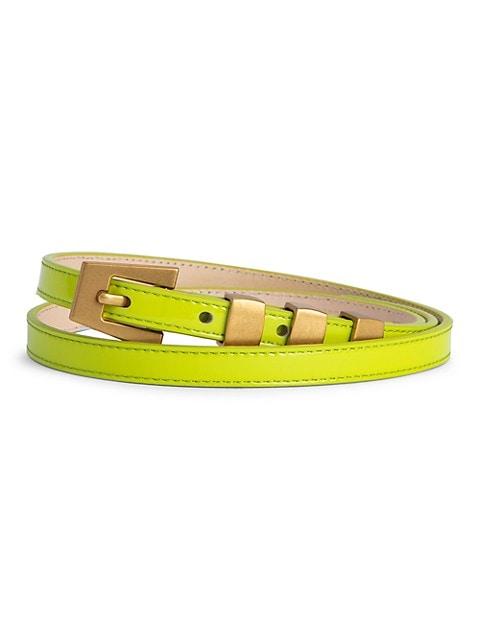 Vic Patent Leather Belt