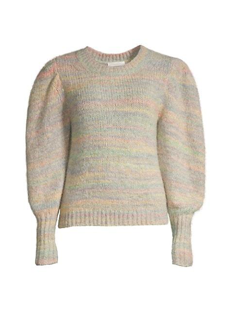 Aquarius Balloon-Sleeve Sweater