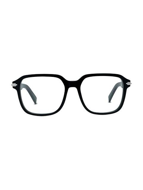 DiorBlackSuito 53MM Square Eyeglasses
