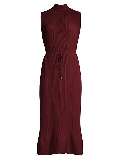 Melina Pleated Maxi Dress