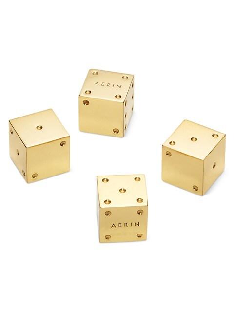 Introduction Karl 4-Piece Dice Set