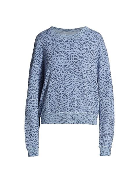 Sela Animal Print Sweatshirt
