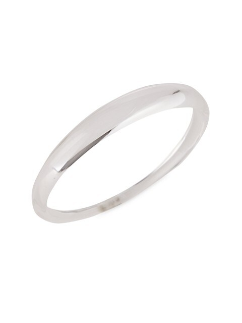 Tapered Lucite Bangle