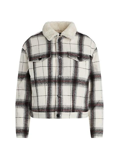 The Ally Plaid Jacket