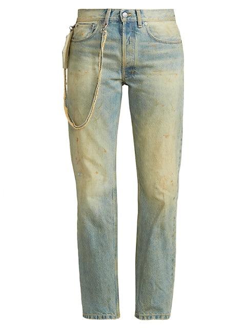 Straigh-Leg Coinpurse Jean