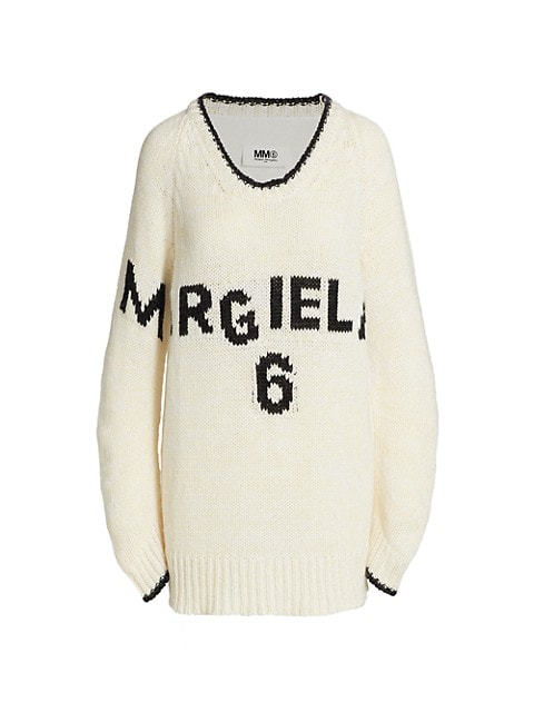 Monogram Knit Sweater