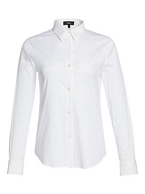 7db5f8b4eec Theory - Tenia Luxe Cotton Shirt - saks.com