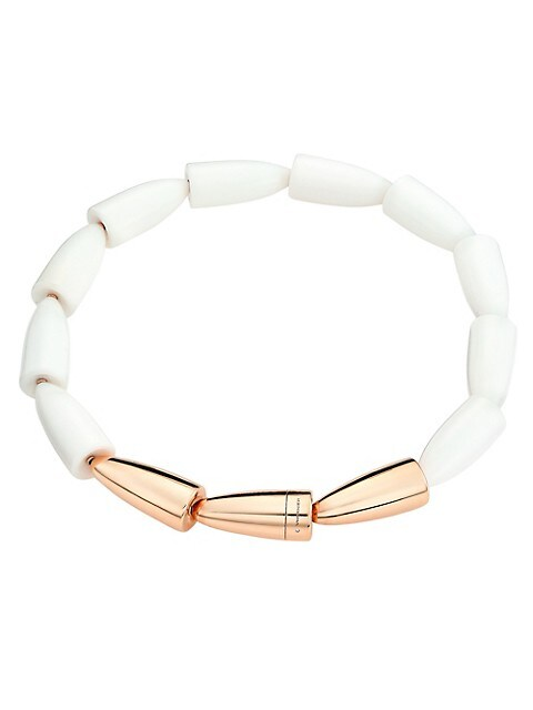 Calla 18K Rose Gold & Kogolong Necklace