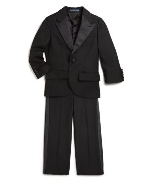 Little Boys TwoPiece Wool Suit