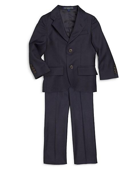 Ralph Lauren Little Boys 2-Piece Wool Suit