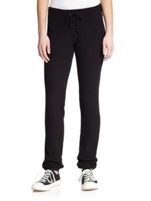 Wildfox Sweatpants - Basic Solid Tennis Club In Jet Black