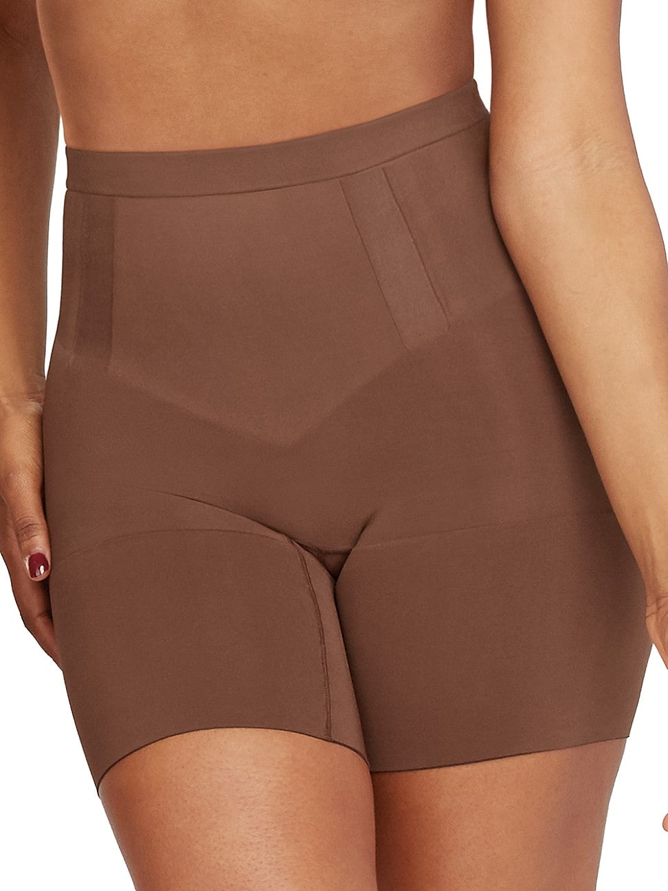Spanx WOMEN'S ONCORE MID-THIGH SHORTS