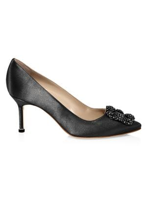 874fca681e4 Chloé - Lauren Scalloped Suede Block Heel Pumps - saks.com