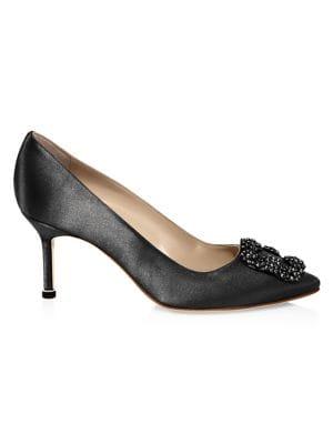 7bb00ae97218 Chloé - Lauren Scalloped Suede Block Heel Pumps - saks.com
