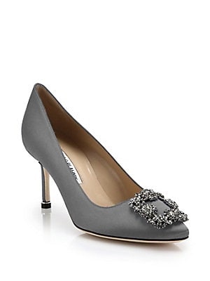 8762667f45941 ... shopping manolo blahnik hangisi 70 crystal embellished satin pumps  62633 796ea