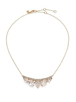 Alexis bittar jagged edge necklace