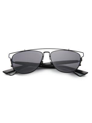 Shop Dior Technologic 57Mm Pantos Sunglasses In Black 3b735022cb02