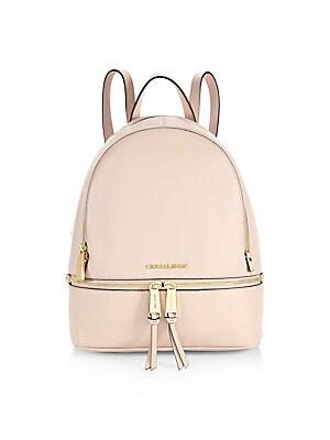 ead94aaf2994 MICHAEL Michael Kors - Mini Leather Backpack - saks.com