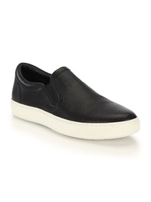 Ace Perforated Slip On Sneakers by Vince
