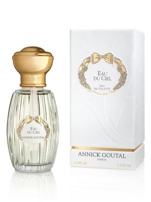 Image of Annick Goutal imagines her strolls in the countryside in South of France lined with cut hay, the smell of nature after a summer rain, the butterflies that come to caress the neck of women. As delicate as the beating of their wings, the skin feels the fres