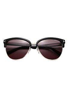 3755f4f7907b Tom Ford. Fany 59MM Square Sunglasses
