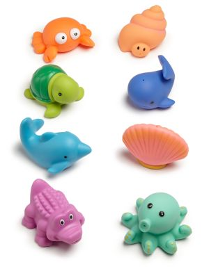 Infants Sea Party Rubber Toy Set