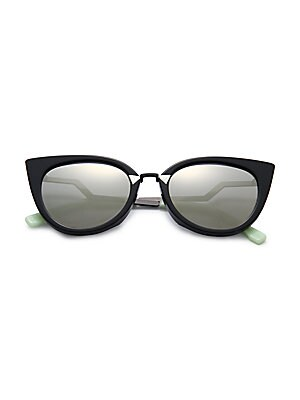 7ab372243ef Fendi - Zig-Zag 52MM Cat Eye Sunglasses - saks.com