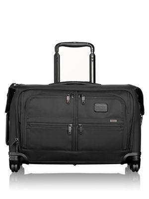 Alpha 2 Wheeled 22-Inch Carry-On Garment Bag - Black