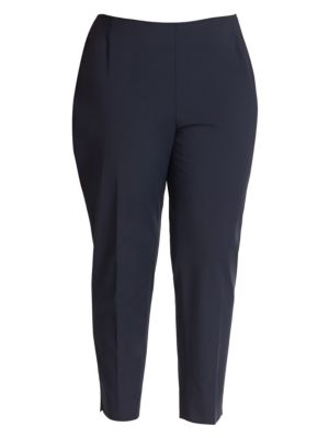 Plus Bi-Stretch High-Waist Pants plus size,  plus size fashion plus size appare