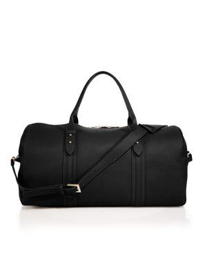 Gigi New York Bags Henley Pebbled Leather Duffle Bag