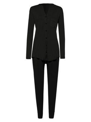 8316b22318 Hanro - Pure Essence Pajamas - saks.com
