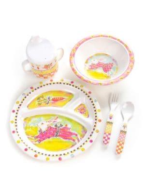 Toddlers Dinnerware Set  Bunny